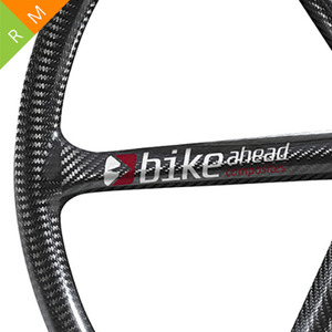 BIKE AHEAD Composites Decal